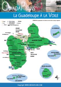Cartes des mouillages Guadeloupe