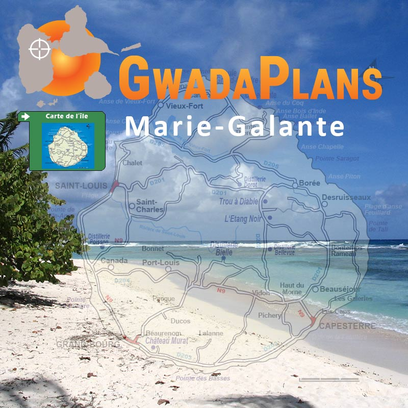 Marie-Galante Guadeloupe