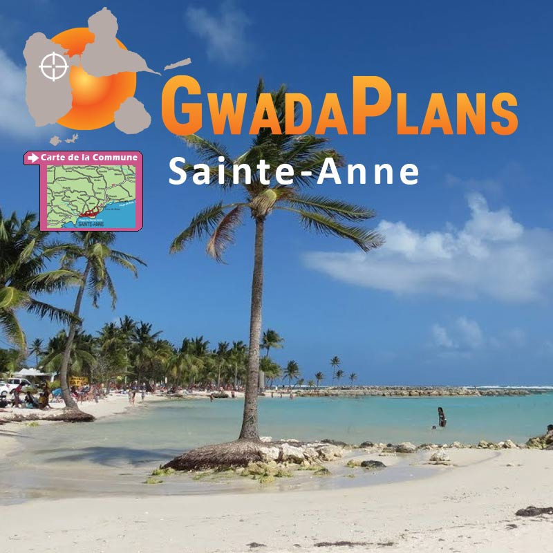 Sainte Anne en Guadeloupe
