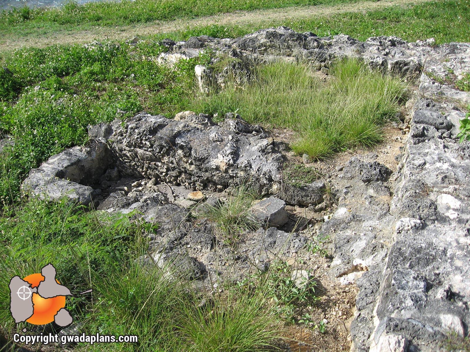 Ruines de La Chapelle - Anse Bertrand