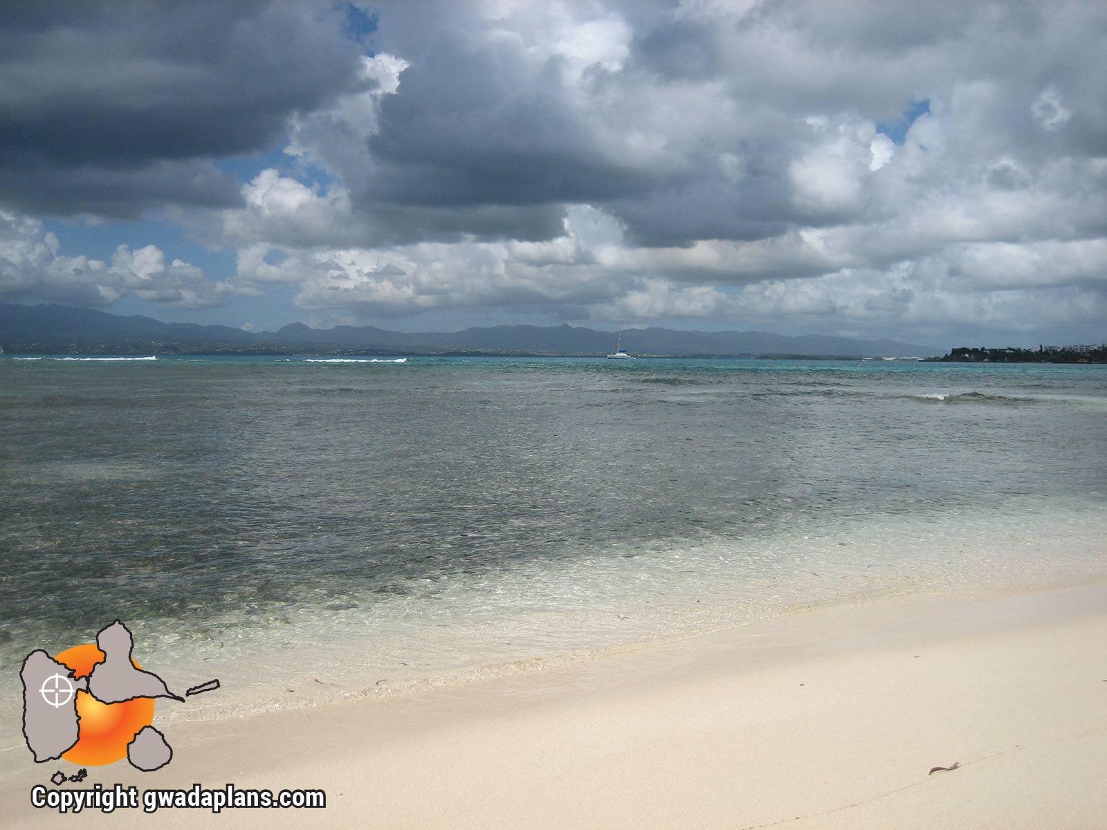 Vue de l'Ilet Gosier - Guadeloupe