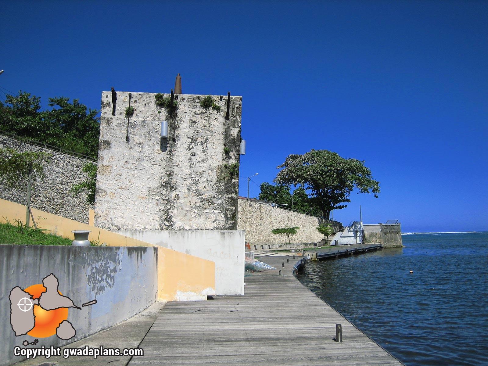 Aménagement de l'ancien port du Moule