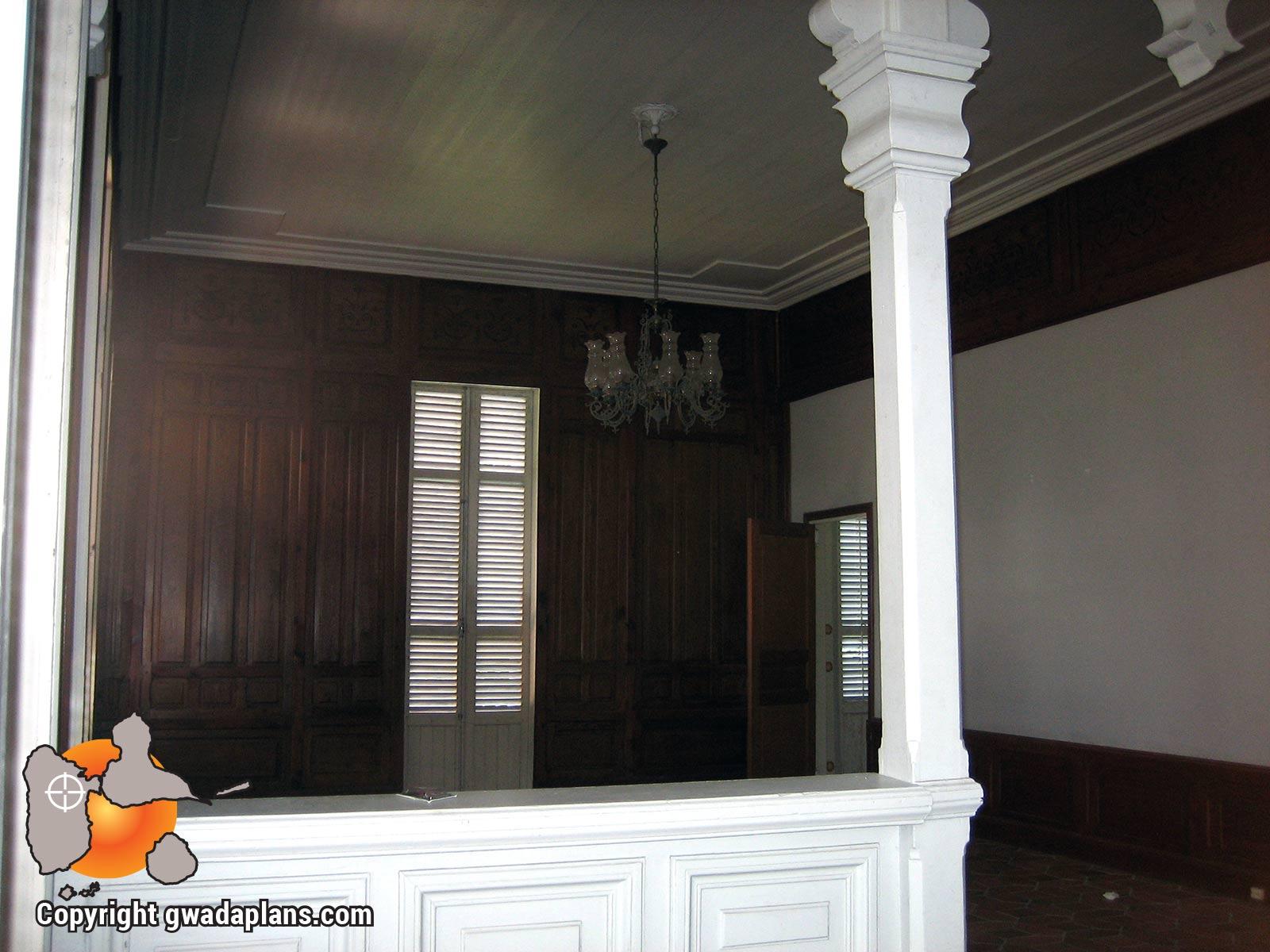 Maison Zévalos intérieur avant rénovation