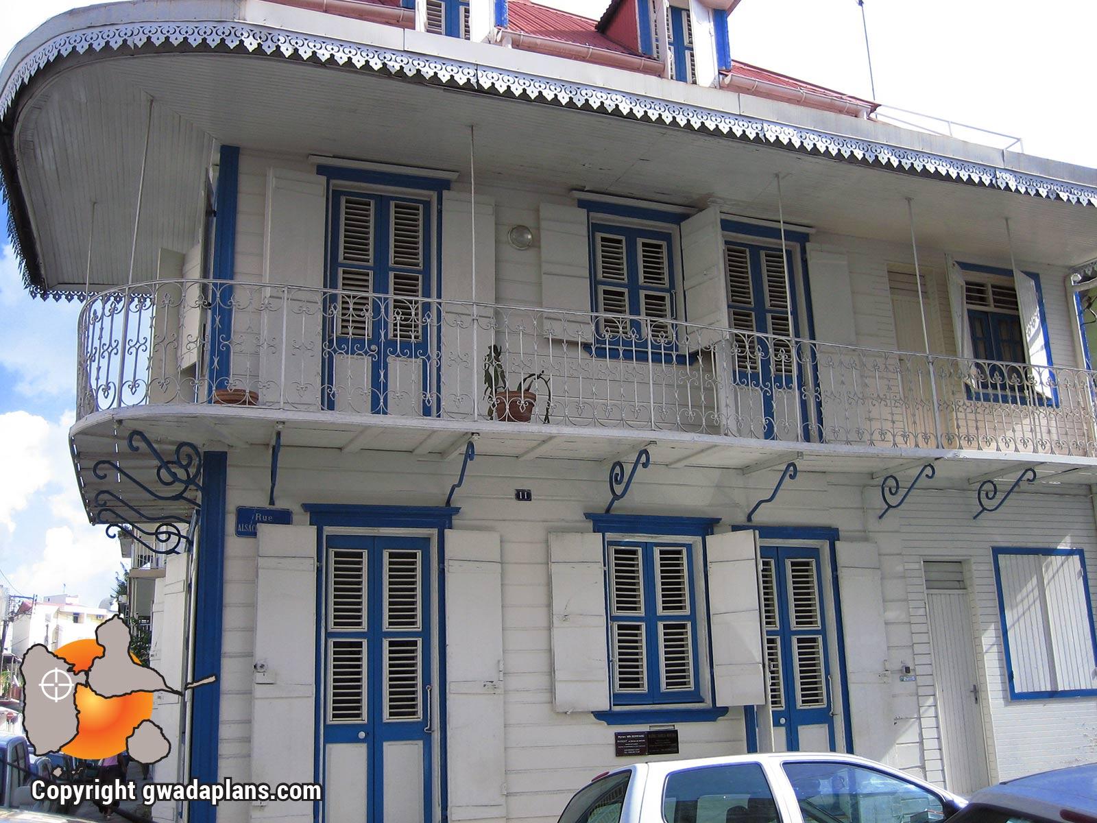 Maison créole de Pointe à Pitre
