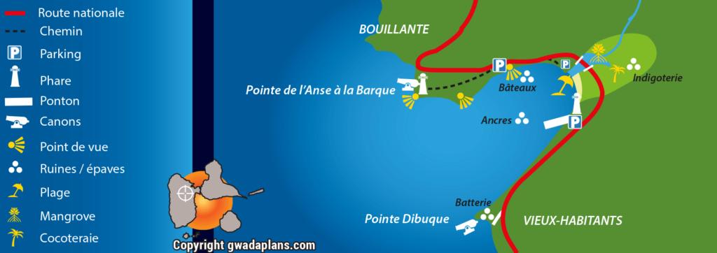Plan de l'Anse à la Barque
