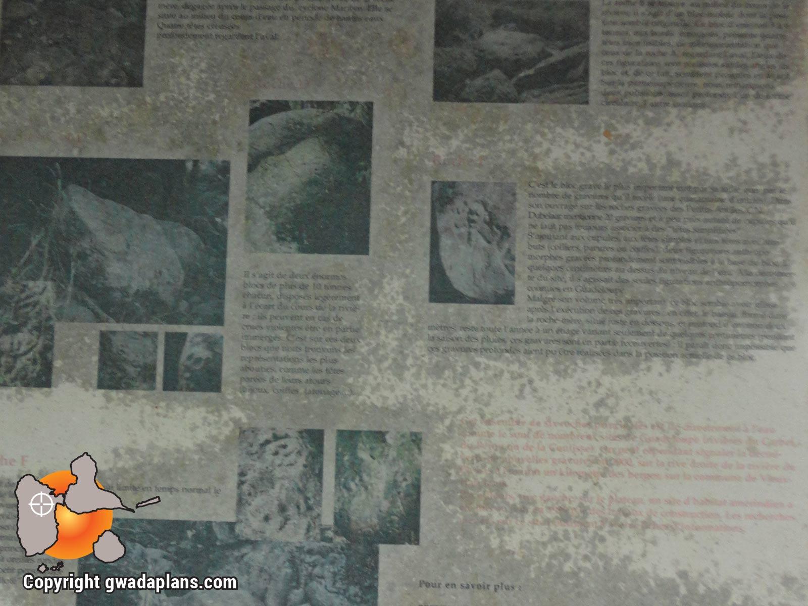 Pétroglyphes de Plessis - Panneau pédagogique