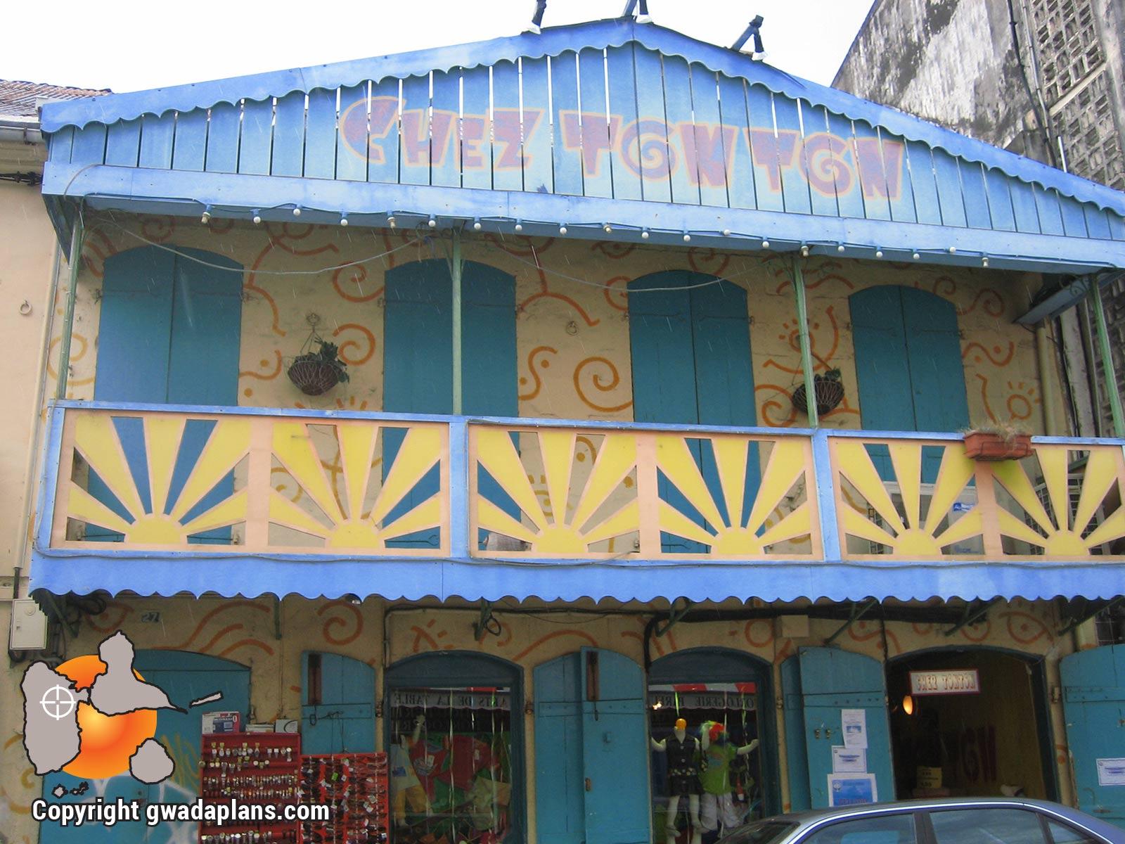 Ville de Basse-Terre : commerce