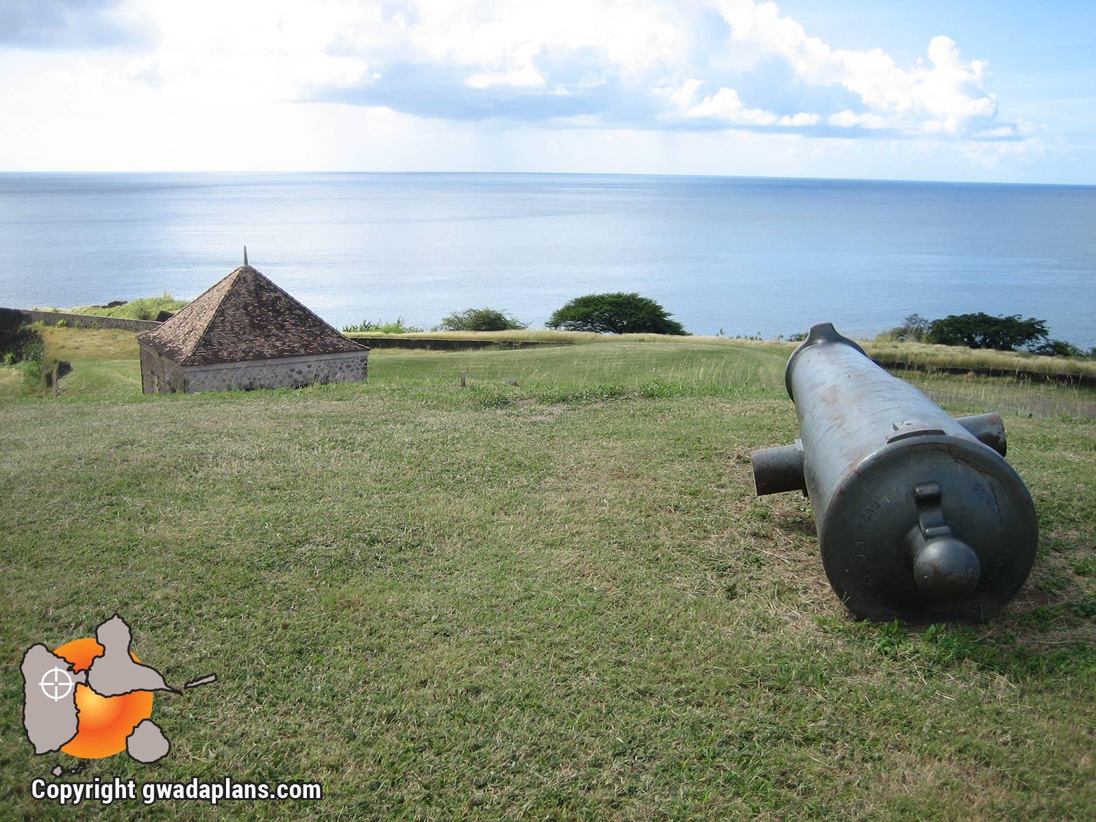 Fort Delgrès, défenses- Guadeloupe