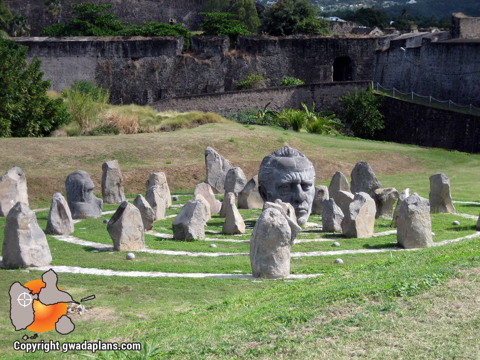 Fort Delgrès, monument à Louis Dlegrès- Guadeloupe