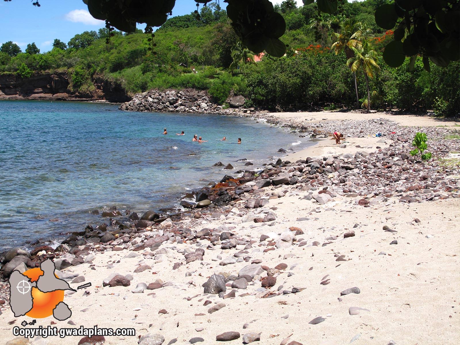 Plage Petite-Anse à Bouillante