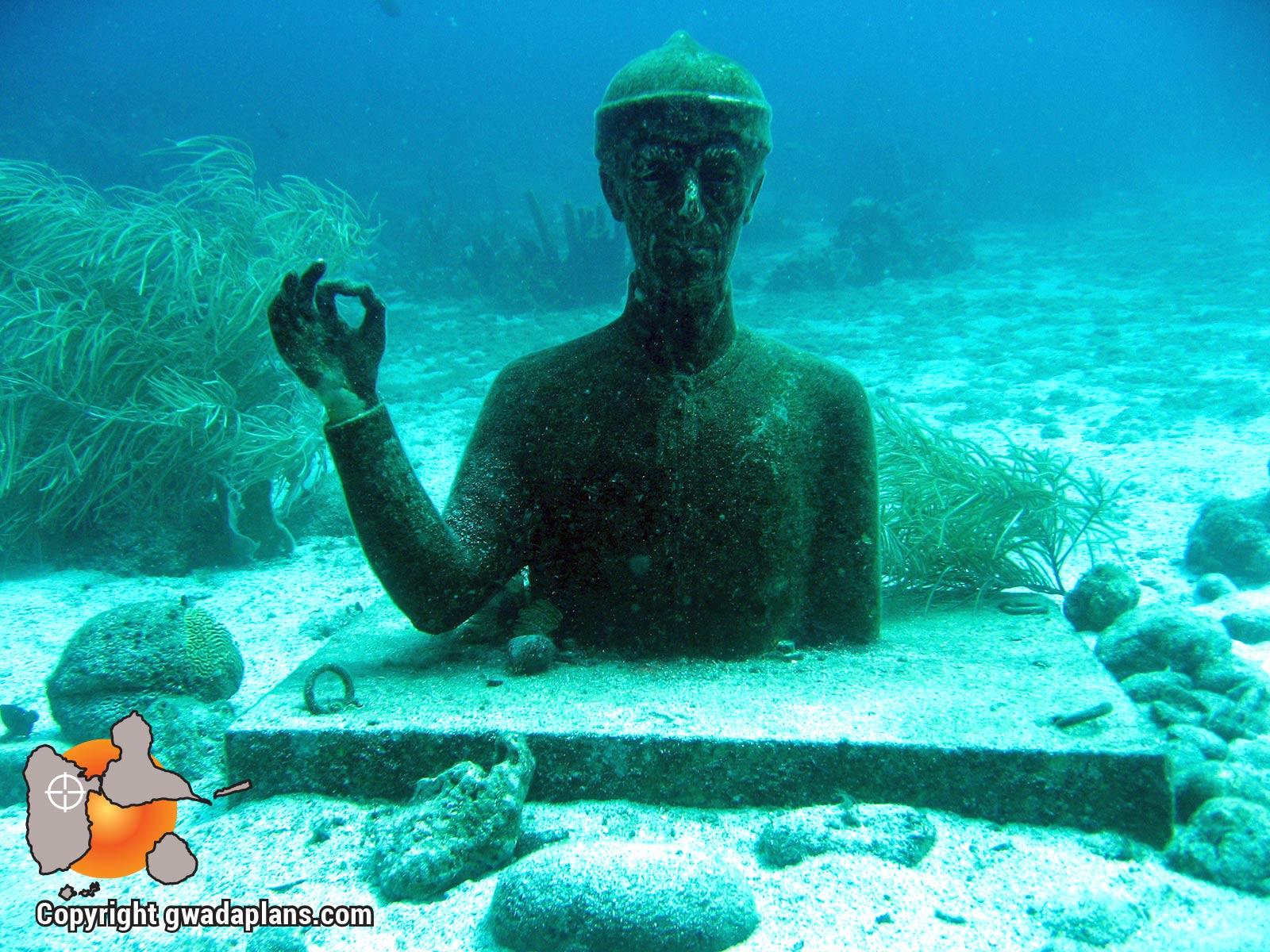 Buste du commandant Cousteau