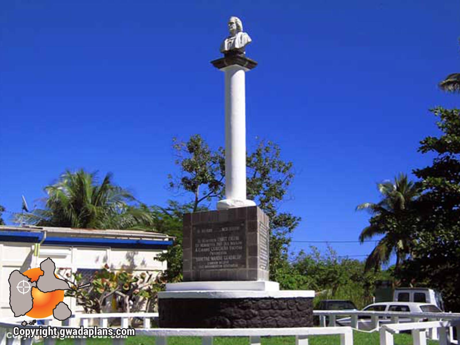 Stèle de Christophe Colomb - Capesterre