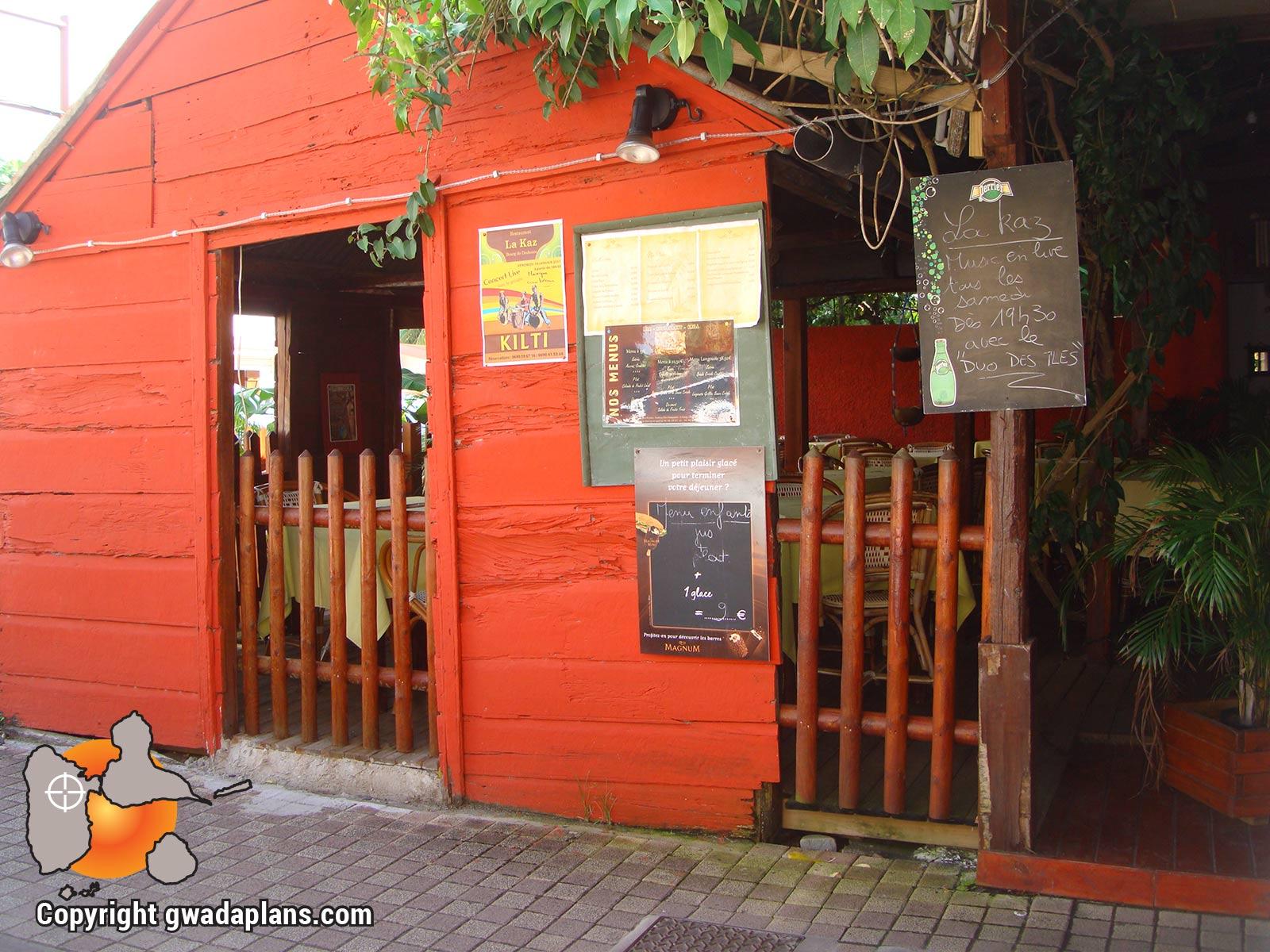 Deshaies restaurant de Meurtres au ParadisDeshaies restaurant
