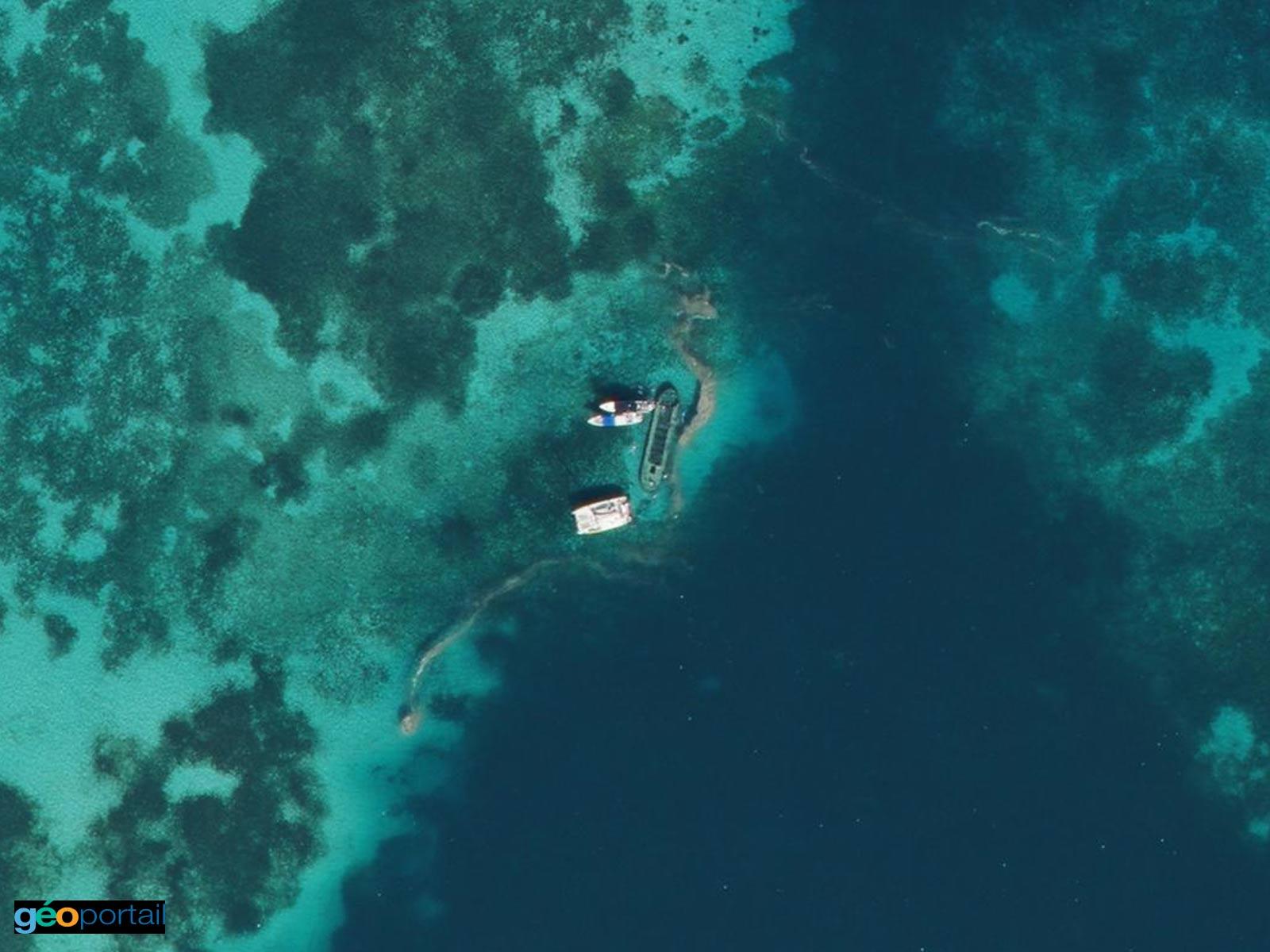Epave de l'îlet Caret - Guadeloupe