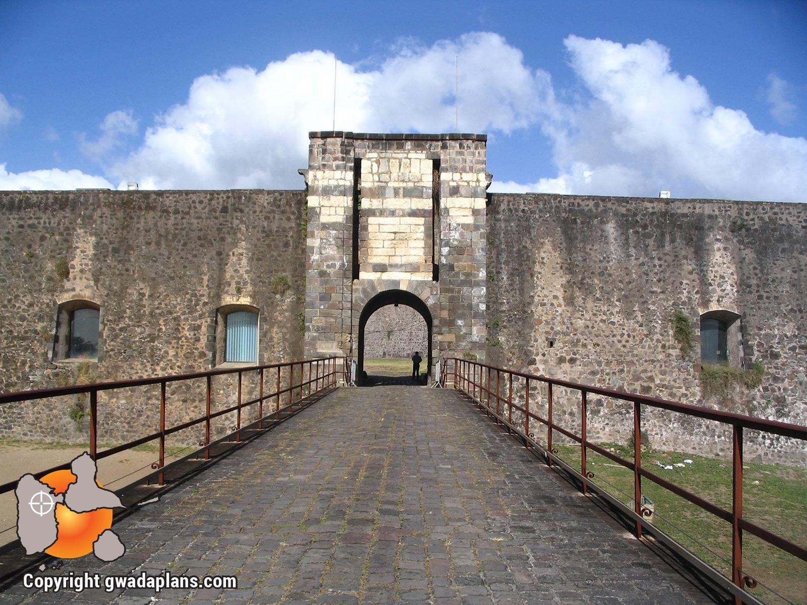Fort Delgrès - Entrée du fort