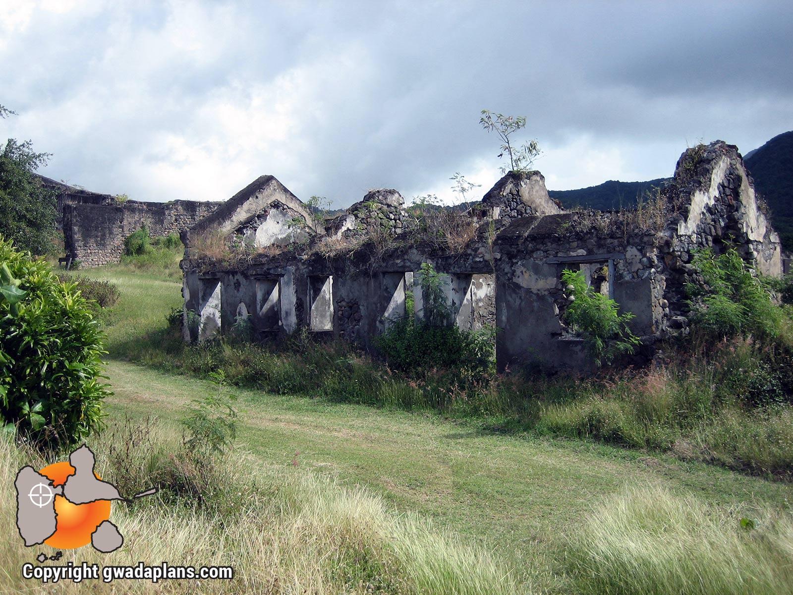 Fort Delgrès - Poudrière