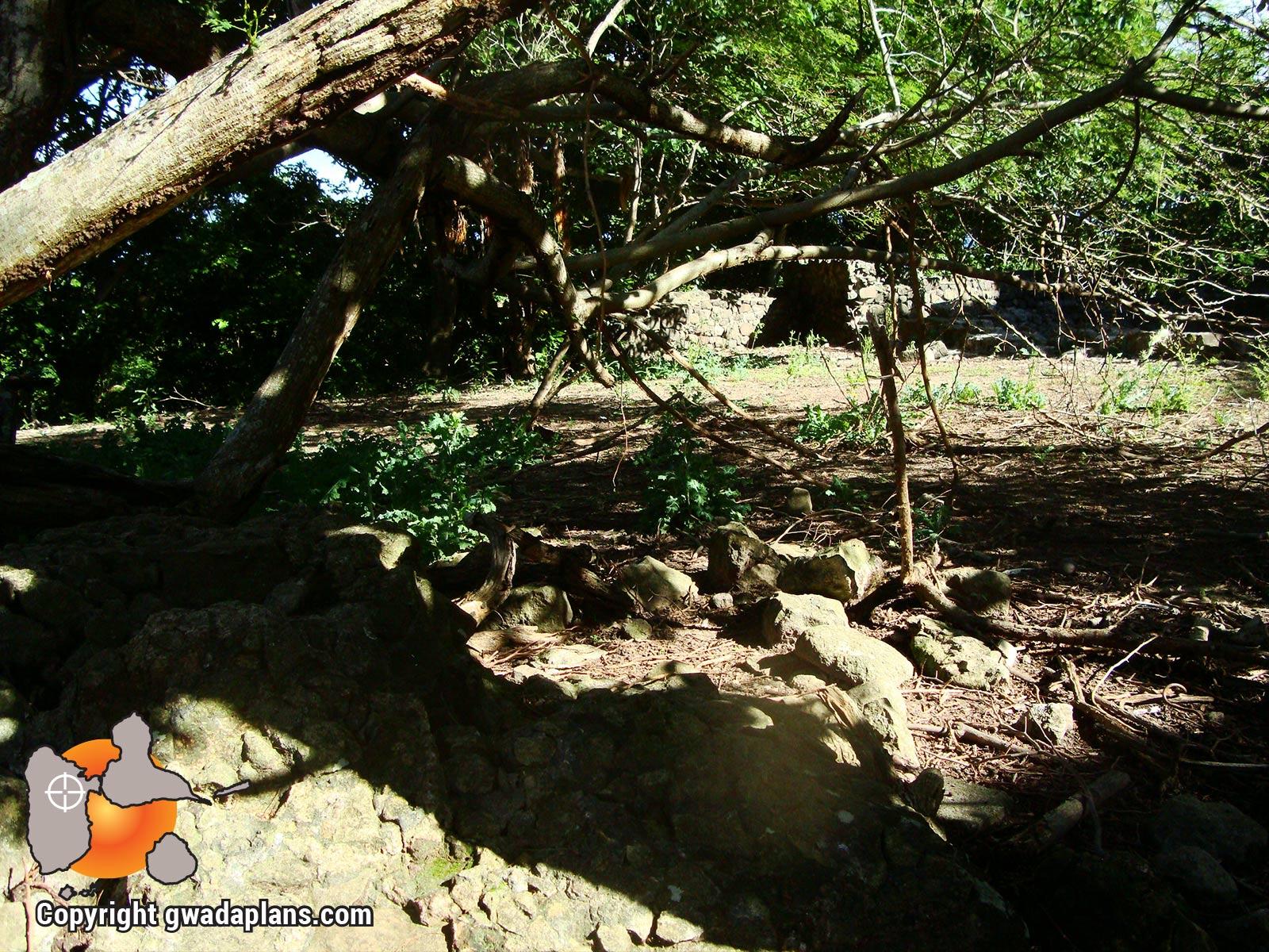 Fort Joséphine - Ruines du fort