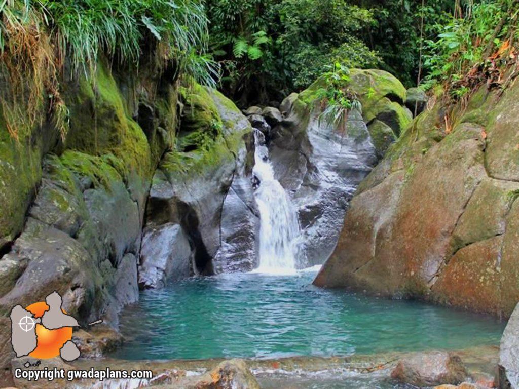 Bassin Bleu - Guadeloupe