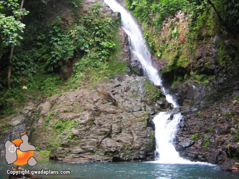 Cascade de Bras du Fort - Guadeloupe