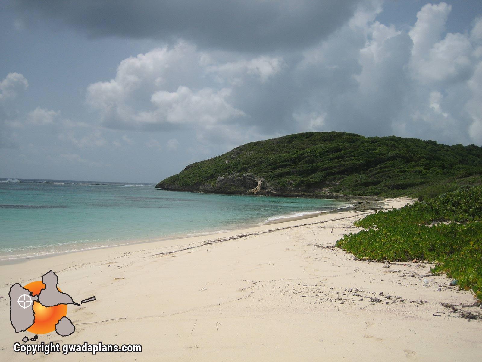 Plage de Pointe Tali - Marie Galante