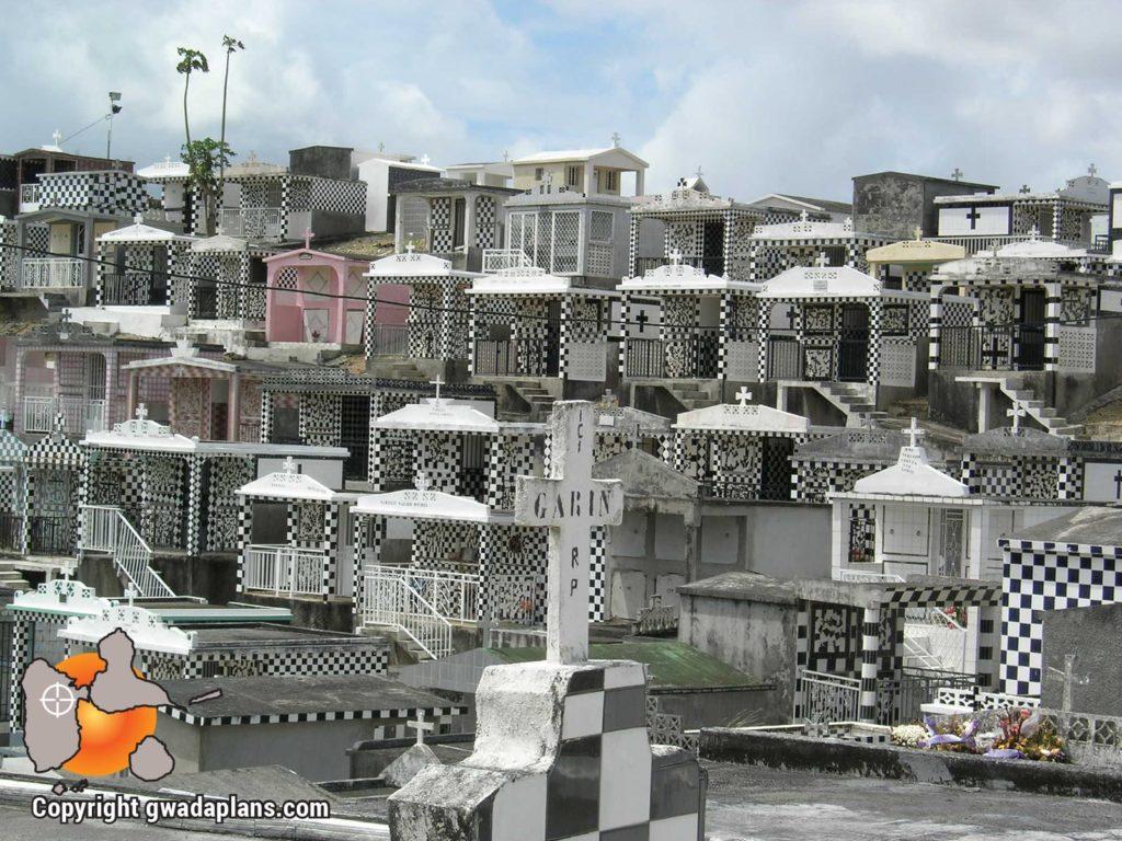 Cimetière de Morne à l'Eau en Guadeloupe