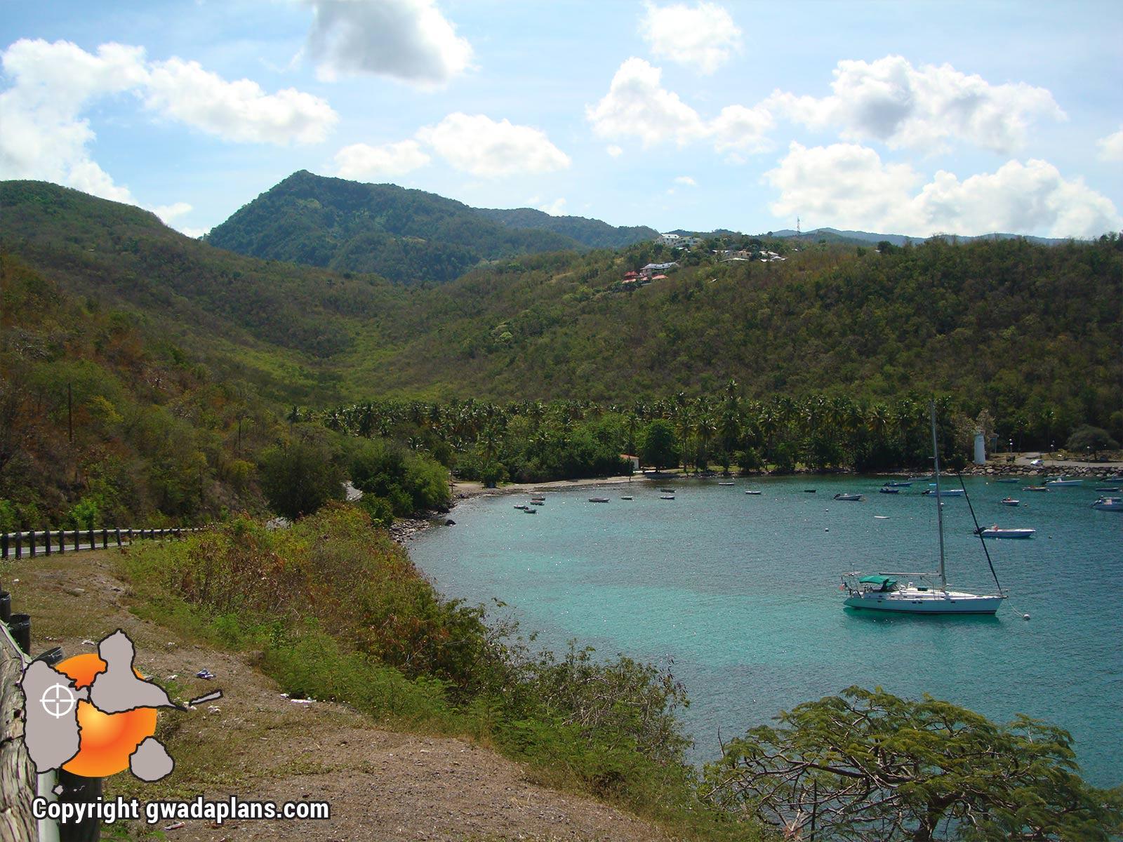 Pointe de vue de l'Anse à la Barque