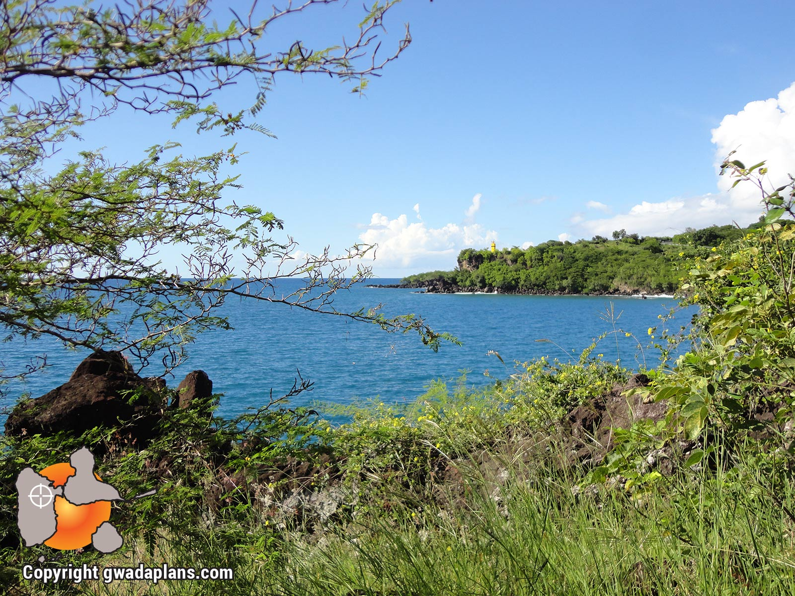 Pointe Dibuque - Vue sur l'Anse à la Barque