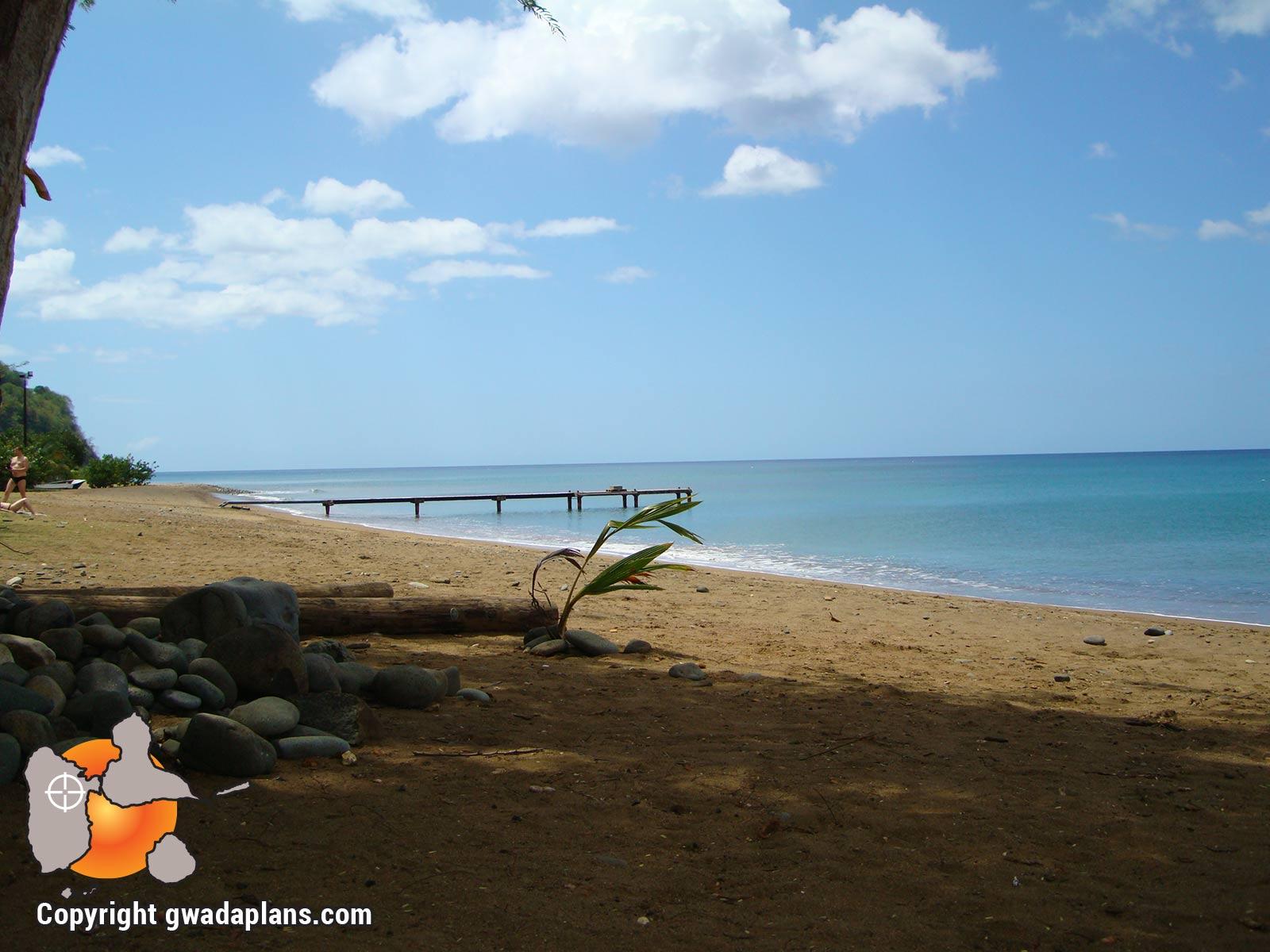 Anse caraïbe - plages de Pointe Noire