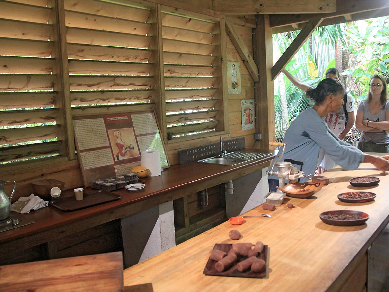 Maison du Cacao - fabrication du Kako