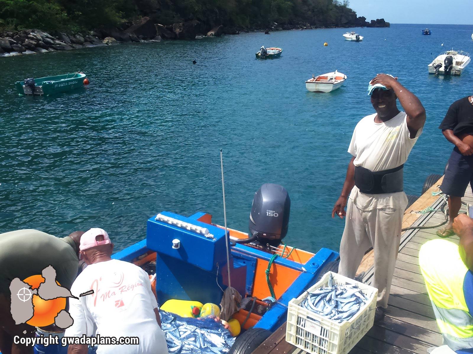 Anse à la Barque retour de pêche