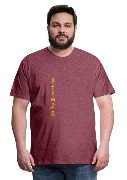 T-shirts homme pétroglyphes