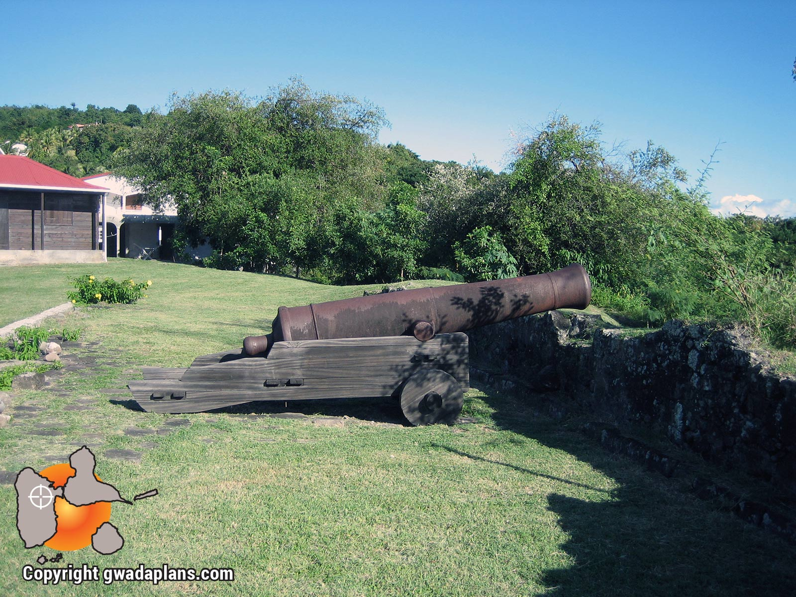 Canons de Vieux Fort - Guadeloupe