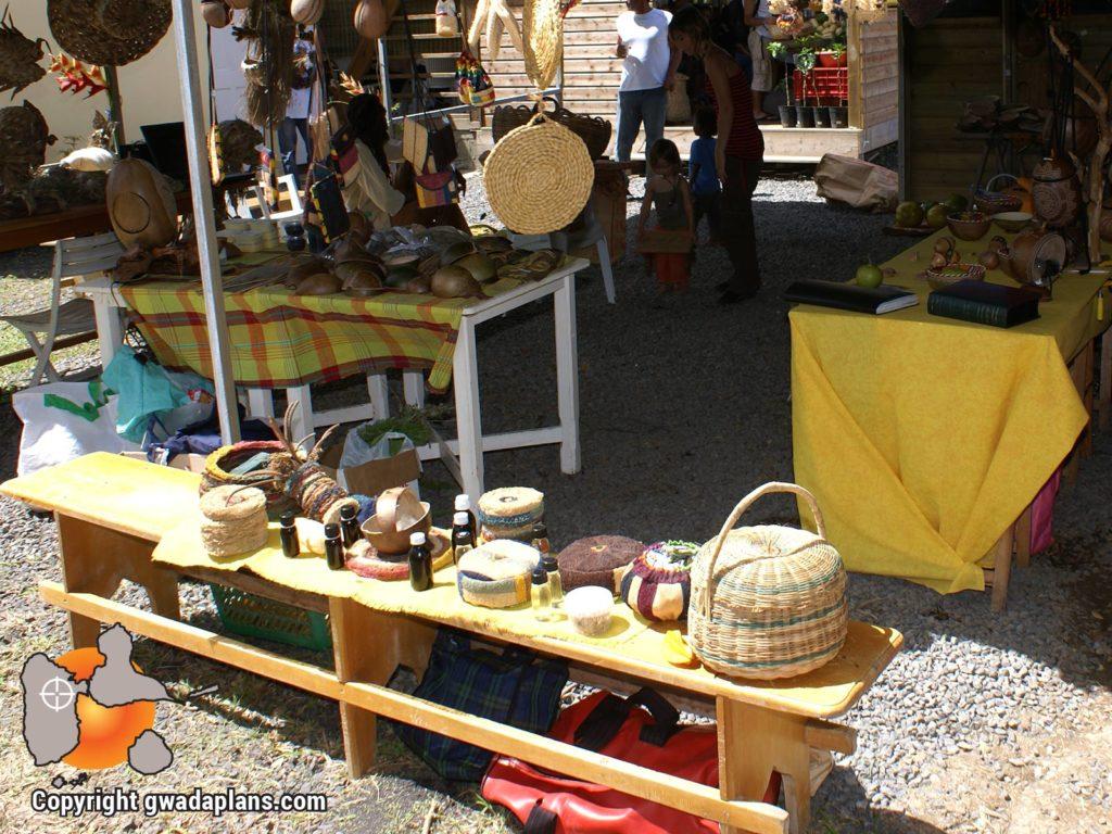 Marché artisanal - Guadeloupe