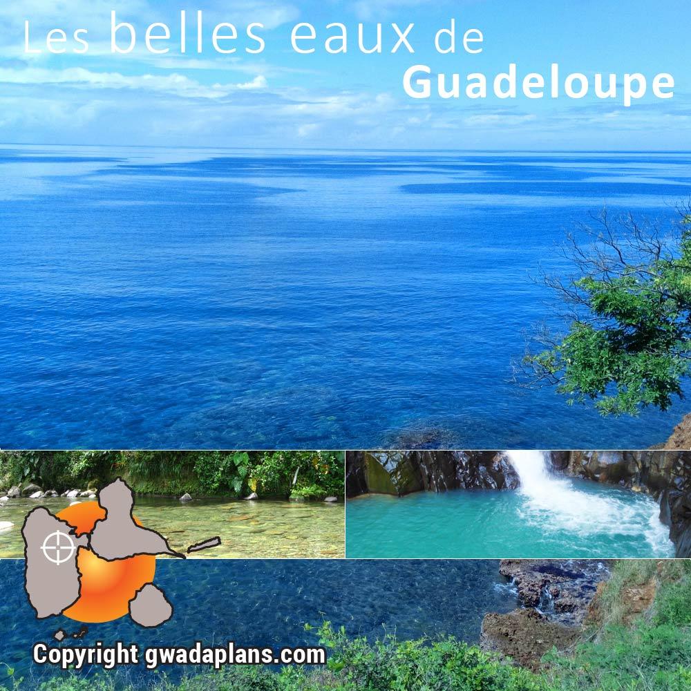 Les belles eaux de Guadeloupe - Itinéraire