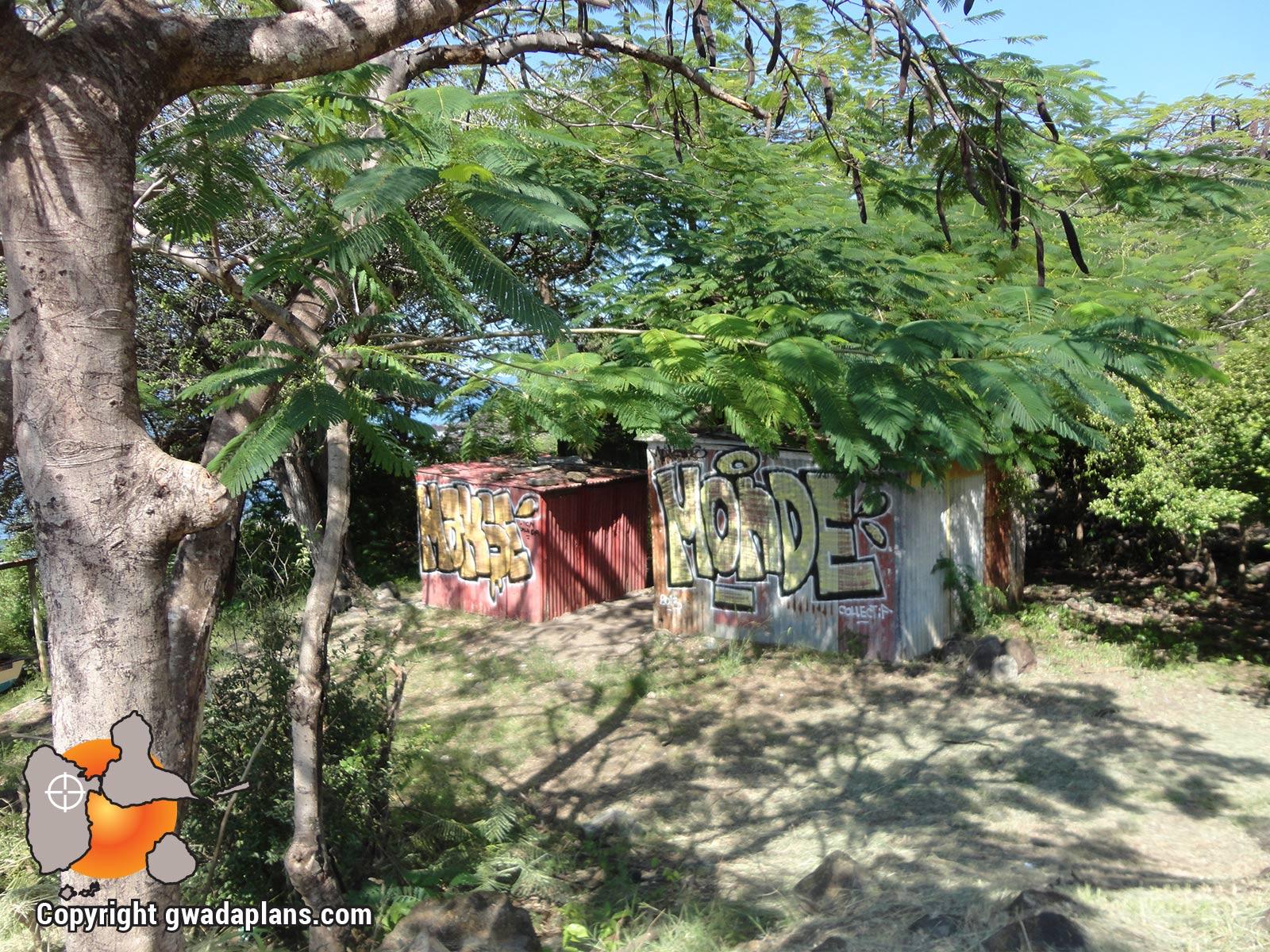 Cabanes de pêcheurs - Anse Thomas