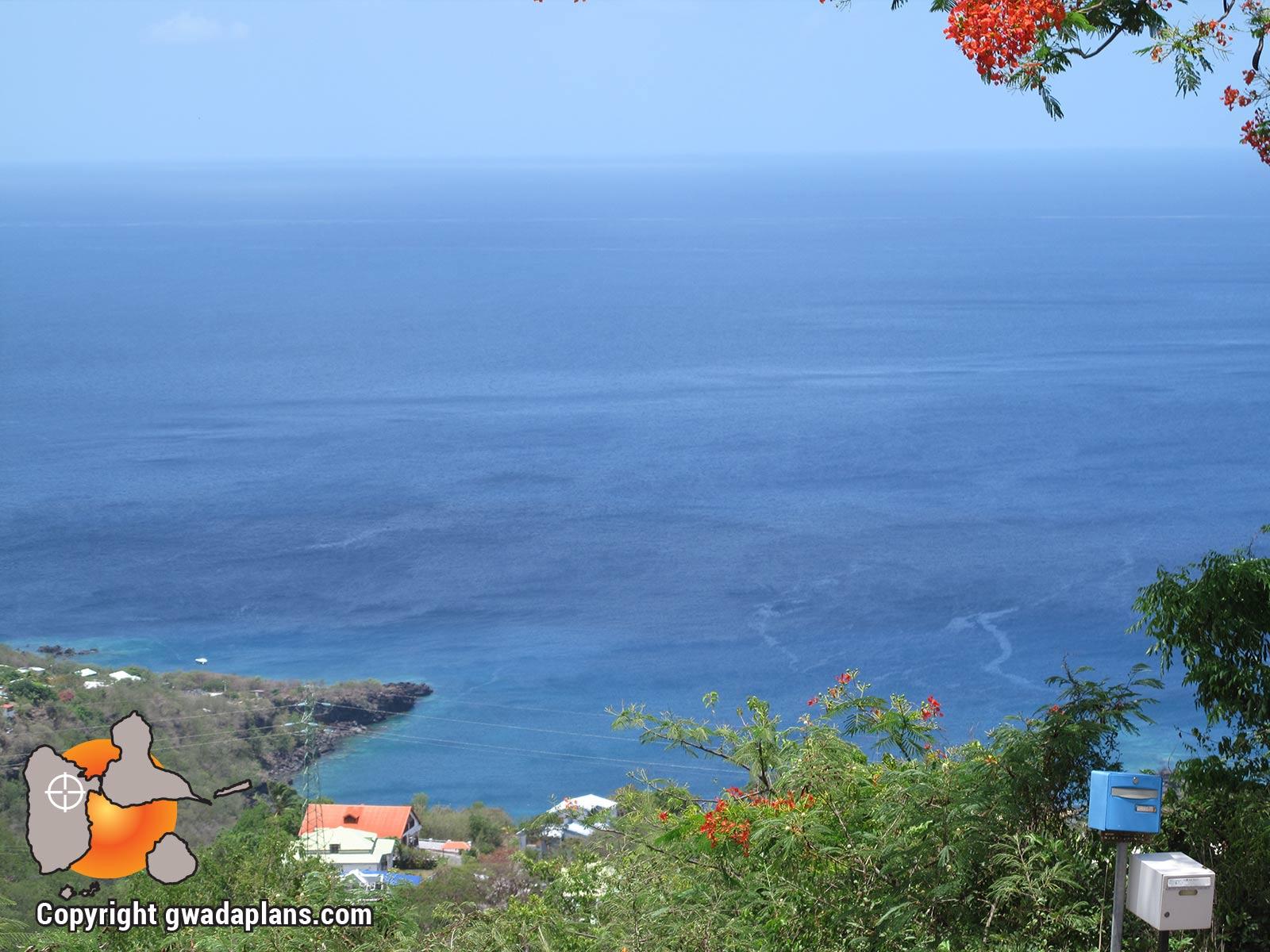Point de vue de Village - Bouillante