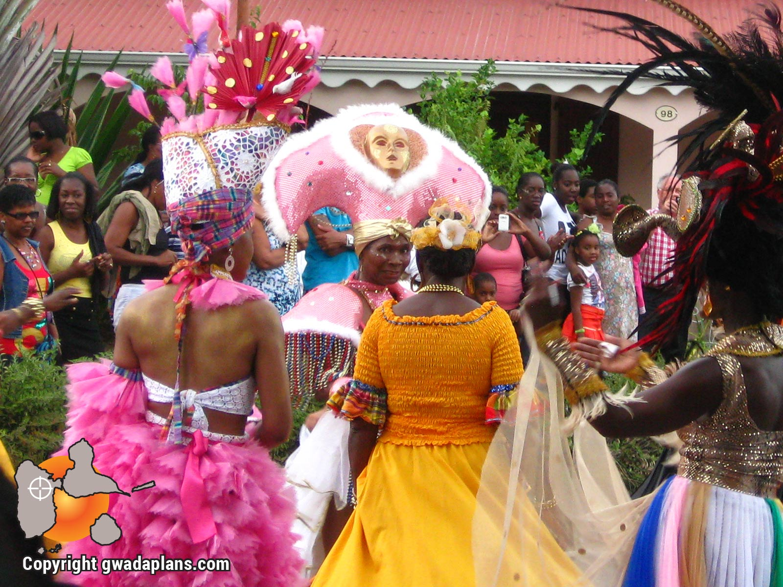 Carnaval Guadeloupe - Costumes