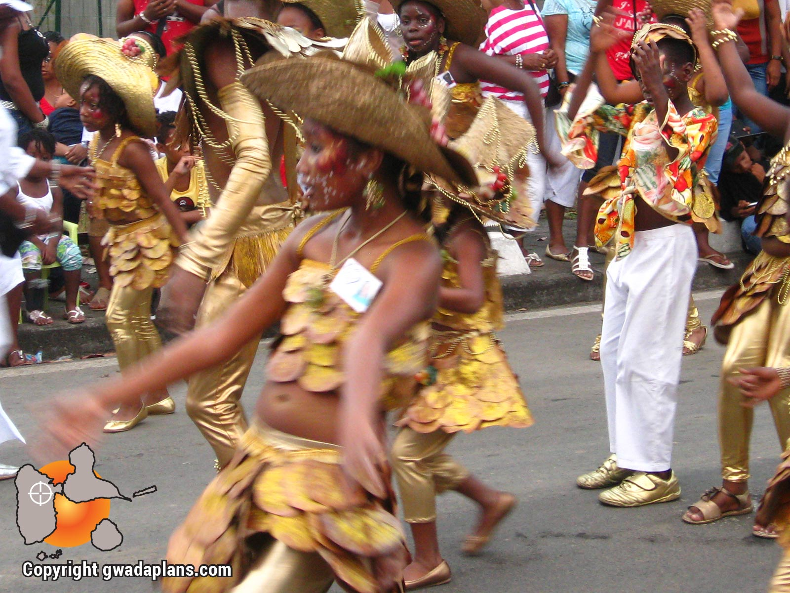 Carnaval Guadeloupe - Chorégraphie