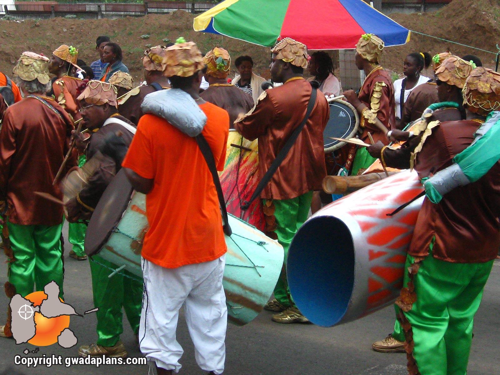 Carnaval Guadeloupe - Masse