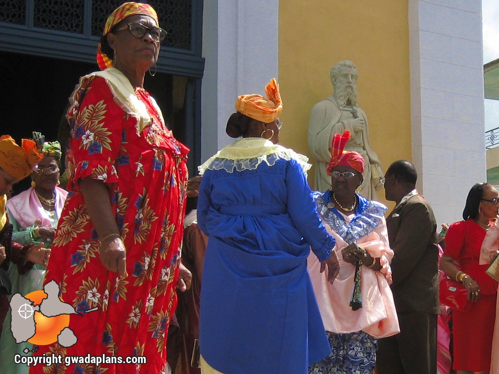 Habillement de cérémonie - Guadeloupe