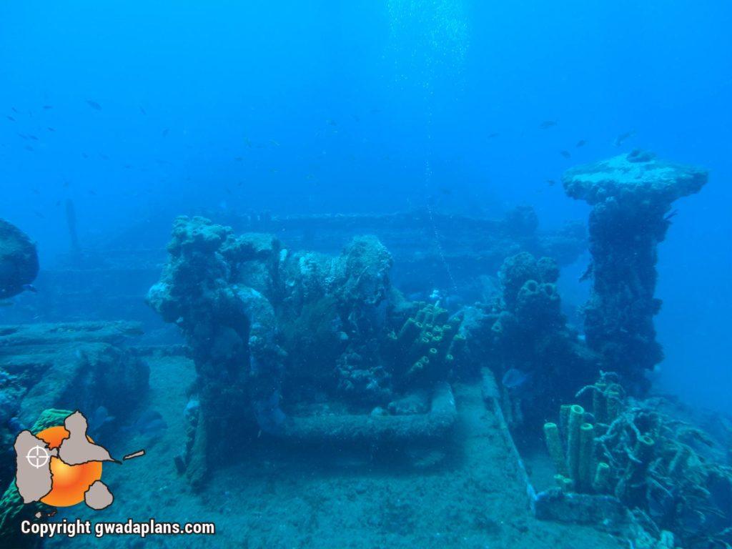 Epave Franjack - Réserve Cousteau