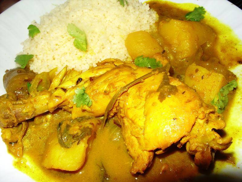 Colombo de poulet - Gastronomie Guadeloupe