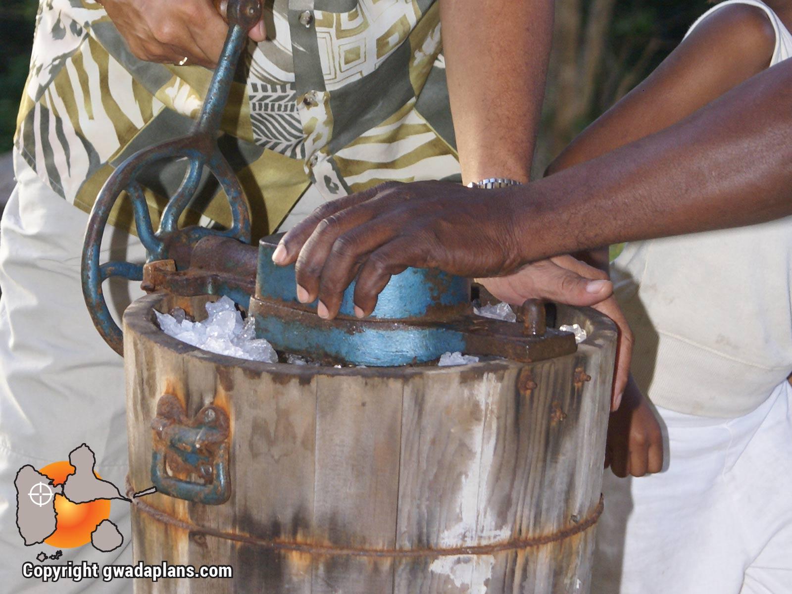 Sorbetière à coco - Guadeloupe