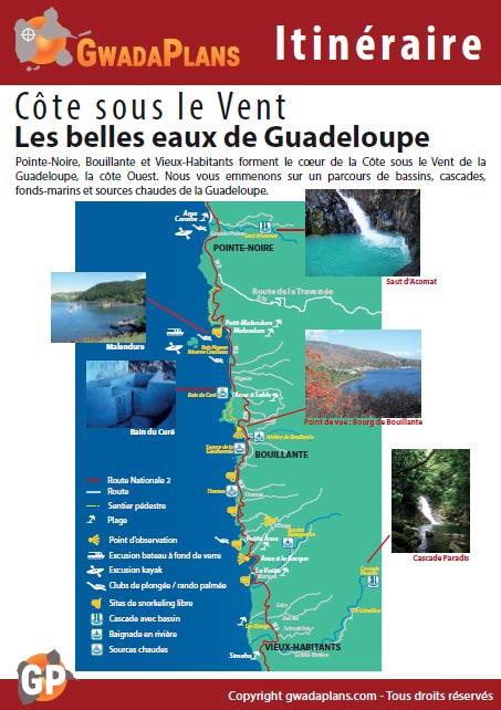 Itinéraire - Belles eaux de Guadeloupe
