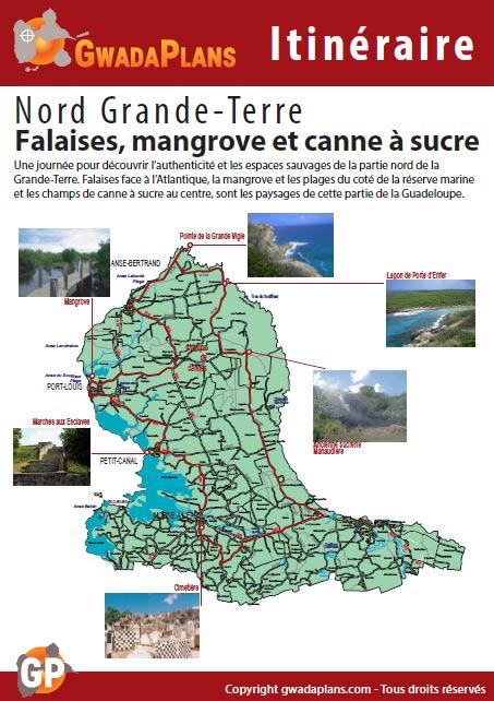 Falaises, mangrove et canne à sucre - Itinéraires Guadeloupe