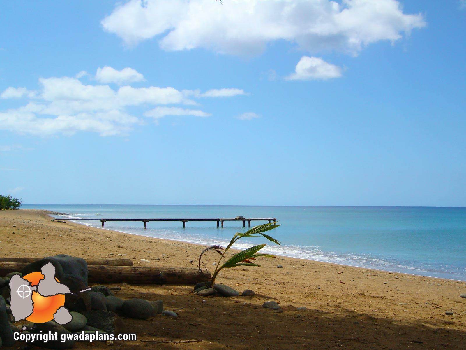 Plage Anse Caraïbe - Pointe Noire