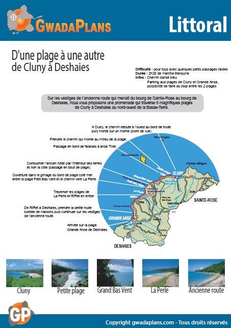 D'une plage à une autre - Balade sur le littoral de Guadeloupe