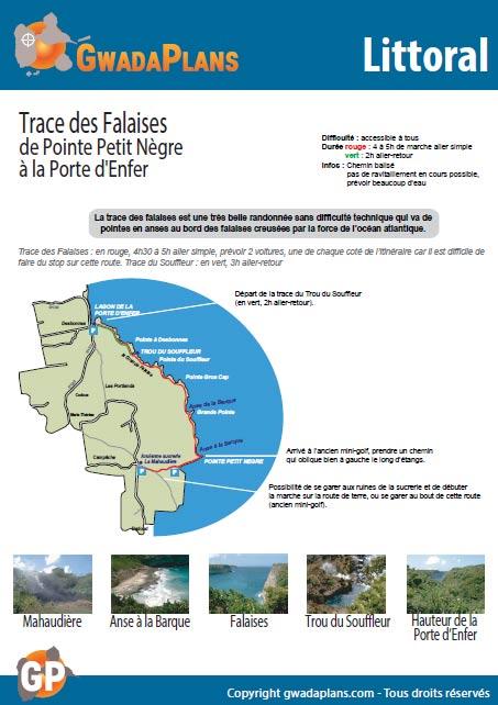 Trace des Falaises - Balade sur le littoral de Guadeloupe