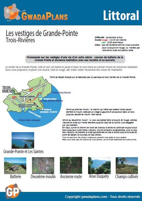 Vestiges de Grande Pointe - Balade sur le littoral de Guadeloupe