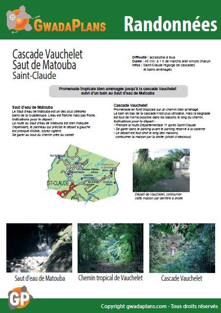 Télécharger la fiche rando Cascade Vauchelet - Matouba - Guadeloupe